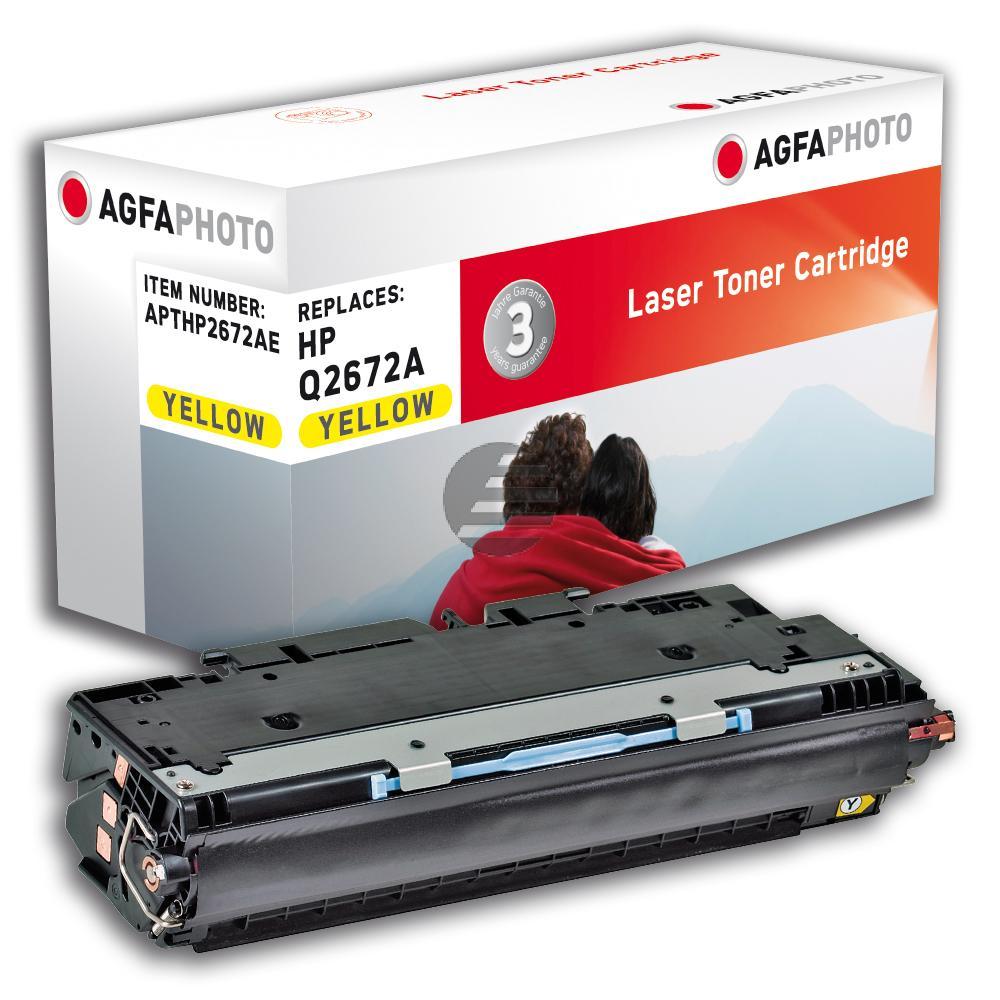 Agfaphoto Toner-Kartusche gelb (APTHP2672AE)