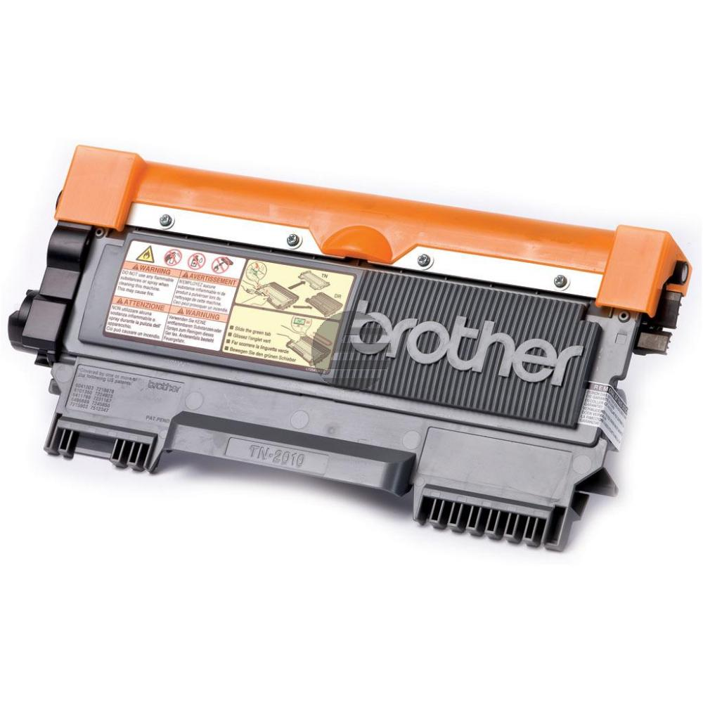 Brother Toner-Kit schwarz (TN-2010)