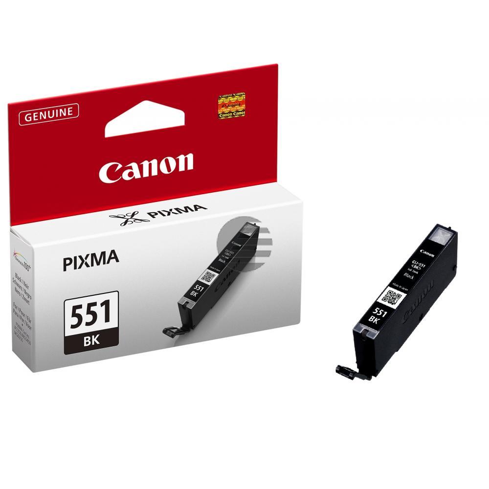 Canon Tintenpatrone schwarz (6508B001, CLI-551BK)