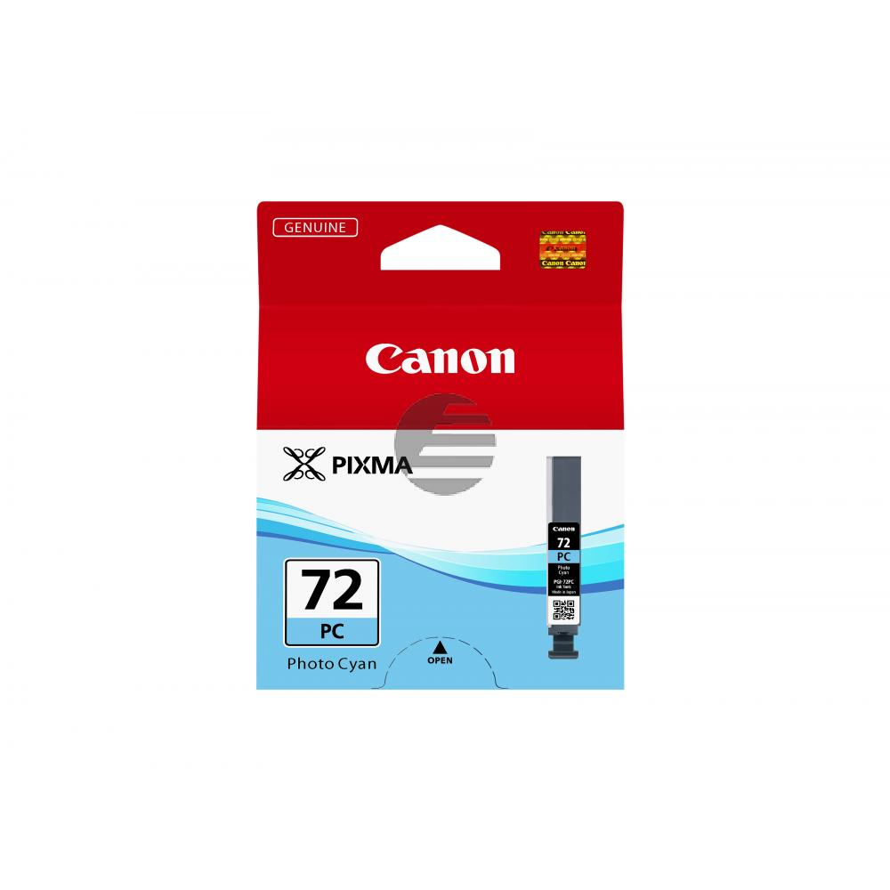 Canon Tintenpatrone Photo-Tinte Photo cyan (6407B001, PGI-72PC)