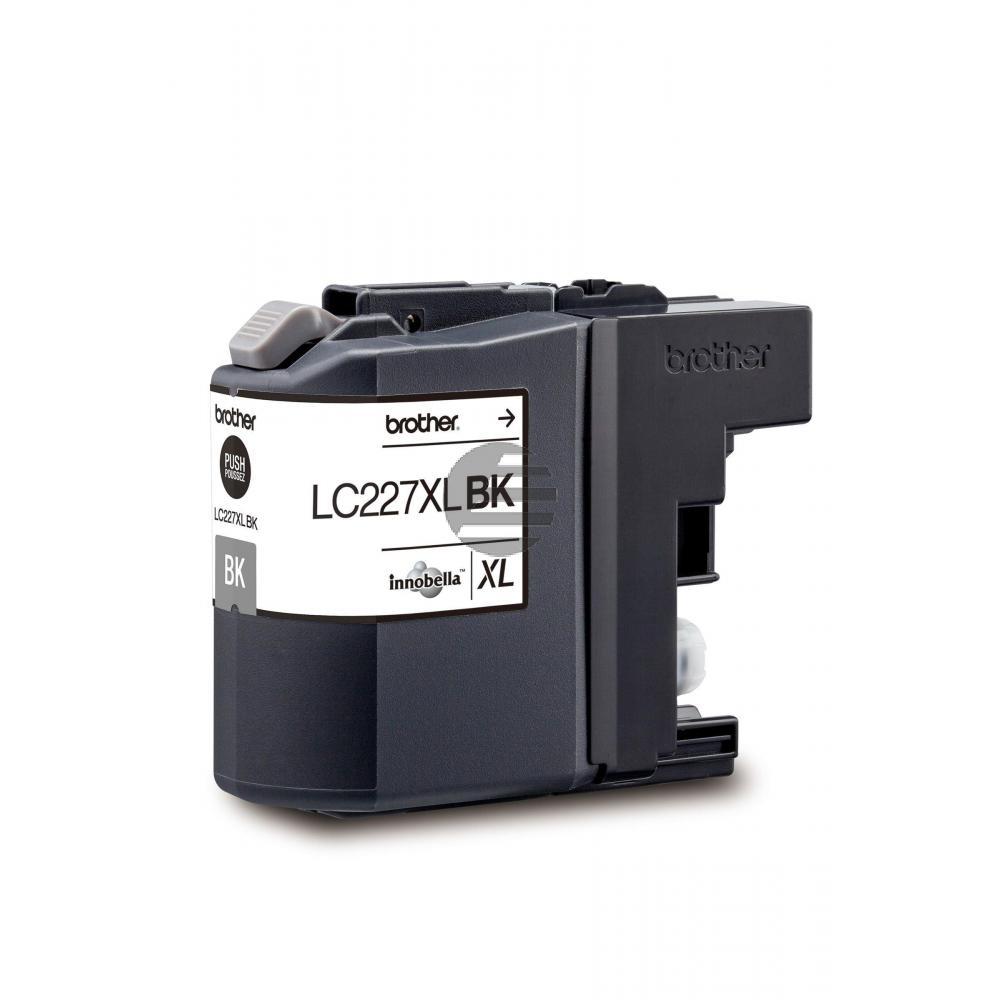 Brother Tintenpatrone schwarz HC (LC-227XLBK)