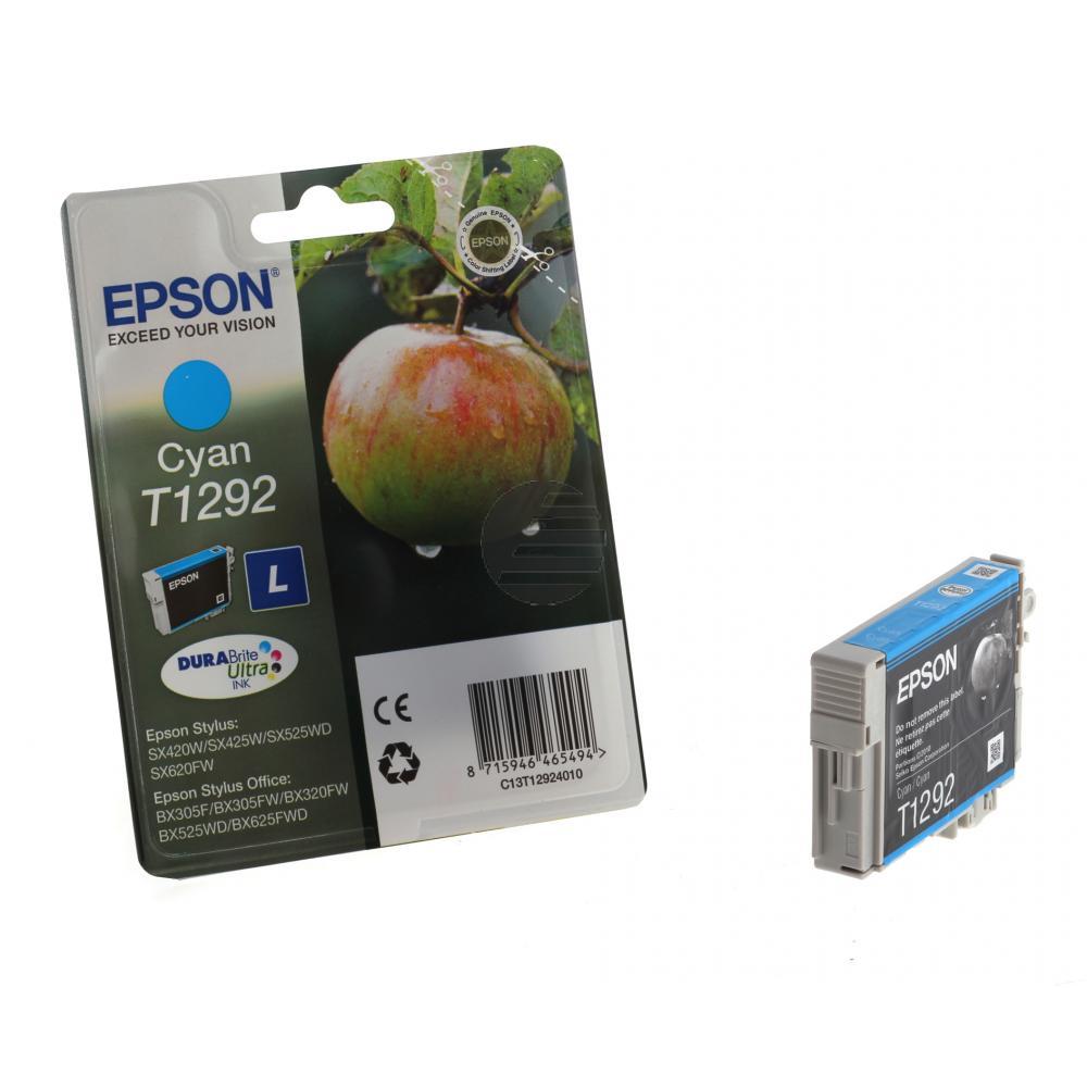 Epson Tintenpatrone cyan HC (C13T12924011, T1292)