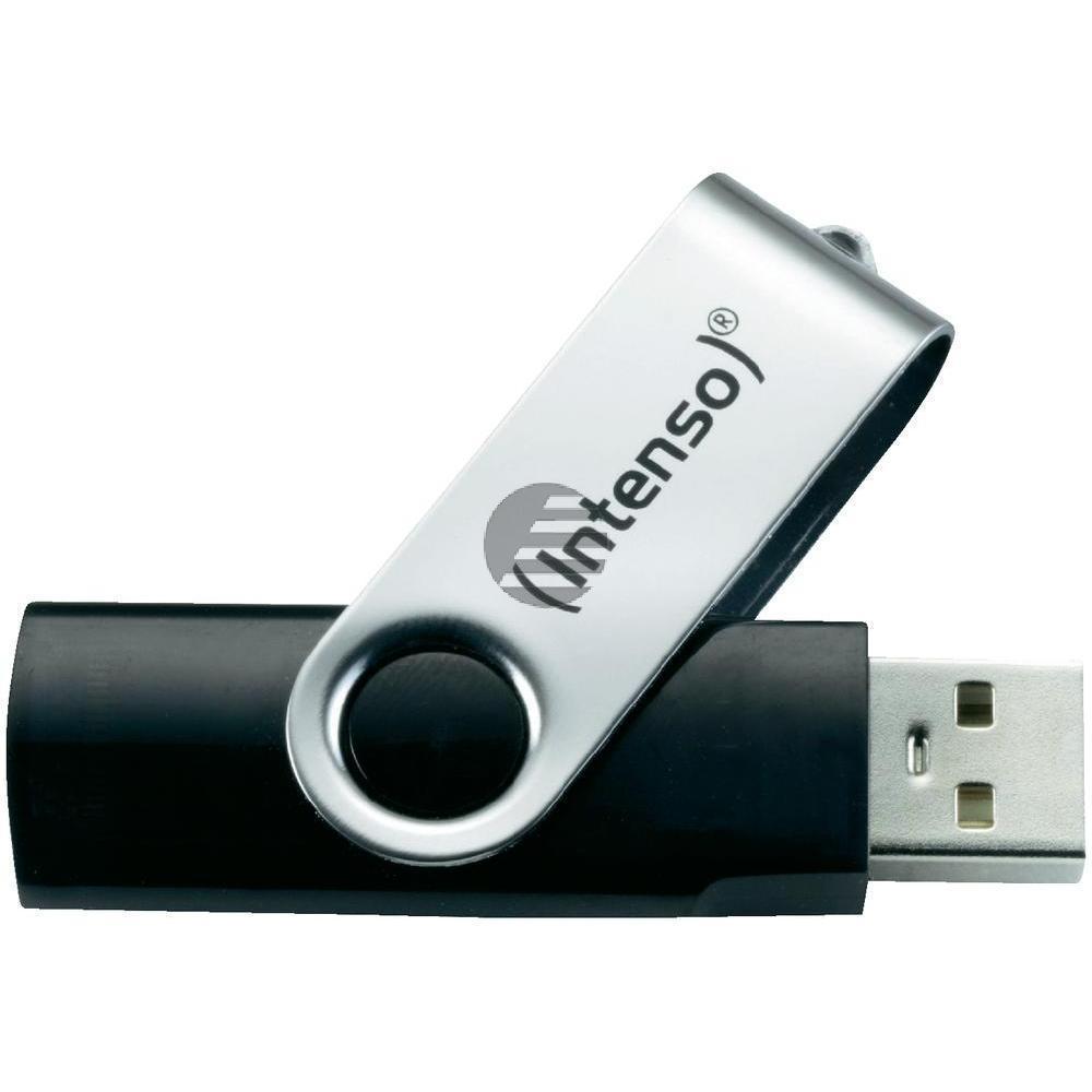 INTENSO USB STICK 2.0 8GB SCHWARZ 3503460 Basic Line