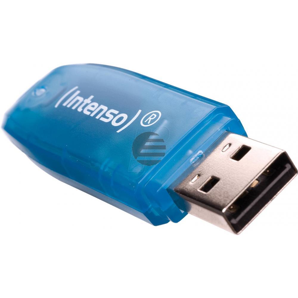 INTENSO USB STICK 2.0 4GB BLAU 3502450 Rainbow Line