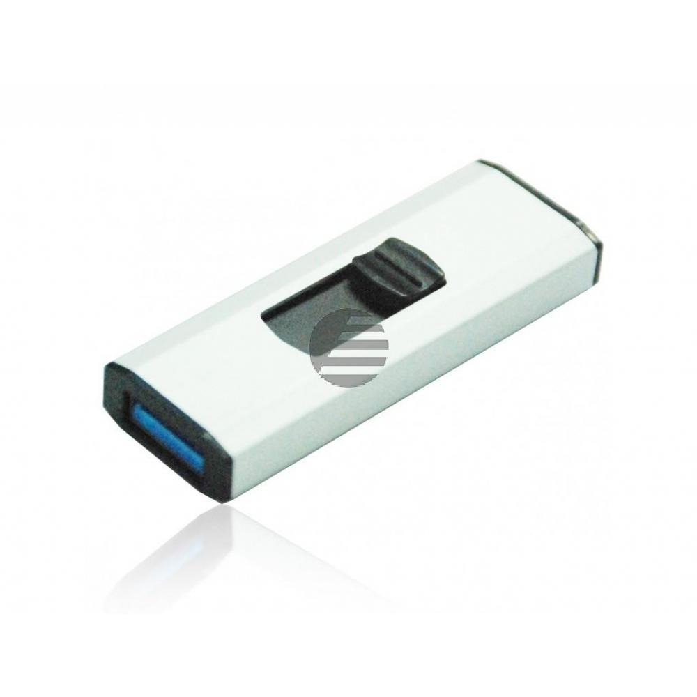 MEDIARANGE SUPERSPEED USB STICK 8GB MR914 USB 3.0 weiss