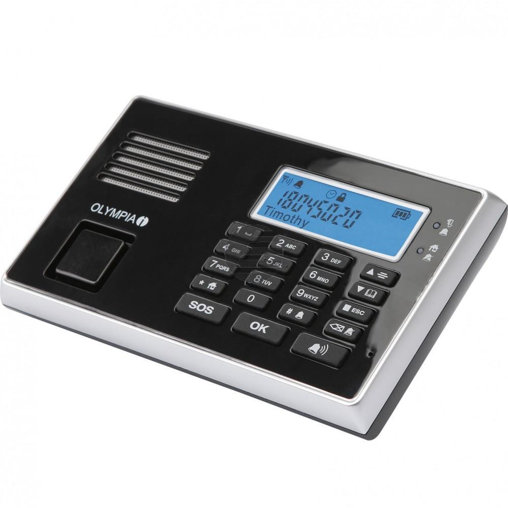 OLYMPIA ALARMANLAGE PROTECT 9061 GSM 5943 Notruf-/Freisprechfunktion drahtlos