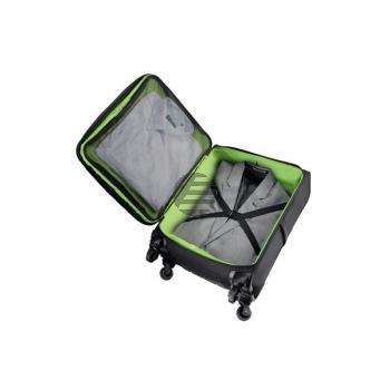 LEITZ Handgepäck Trolley Complete 62270095 schwarz/grün 380x550x225mm