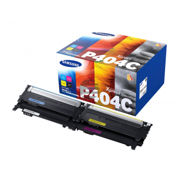 HP Toner-Kit gelb cyan magenta schwarz (SU365A, P404)