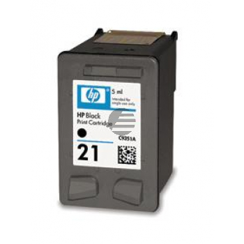 HP Tintendruckkopf schwarz (C9351AE#ABE, 21)