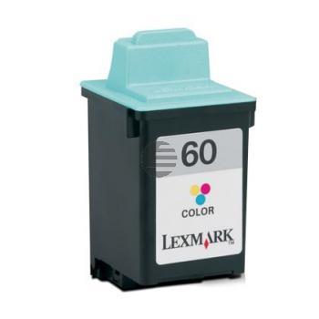 Lexmark Tintendruckkopf farbig (17G0060, 60)