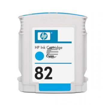 HP Tintenpatrone cyan (CH566A, 82)