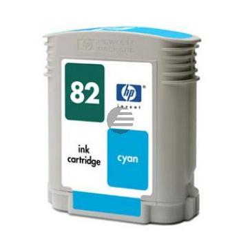 HP Tintenpatrone cyan (C4911A, 82)