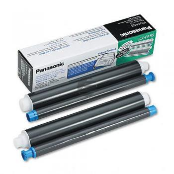 Panasonic Thermo-Transfer-Rolle schwarz 2-Pack (KX-FA55X)