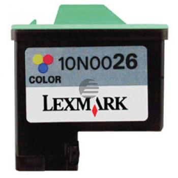 Lexmark Tintenpatrone farbig HC (10N0026, 26)