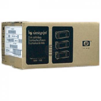 HP Tintenpatrone UV-Tintensystem 3 x cyan light (C5076A, 83)