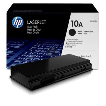HP Toner-Kartusche 2x schwarz (Q2610D, 10A)