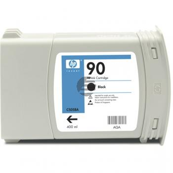HP Tintenpatrone schwarz (C5058A, 90)