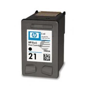 HP Tintendruckkopf schwarz (C9351AE, 21)