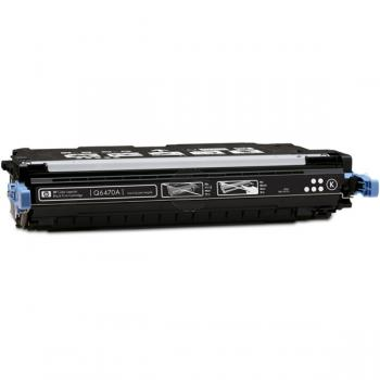 HP Toner-Kartusche schwarz (Q6470A, 501A)