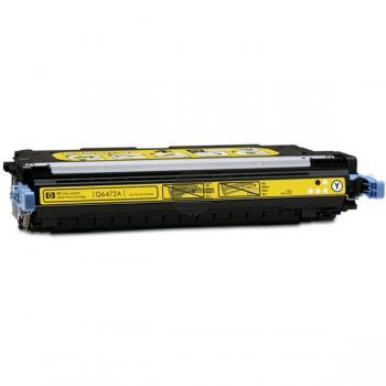 HP Toner-Kartusche gelb (Q6472A, 502A)