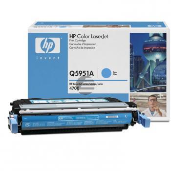 HP Toner-Kartusche cyan (Q5951A, 643A)