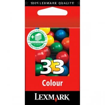 Lexmark Tintendruckkopf 3-farbig HC (18CX033E, 33HC)