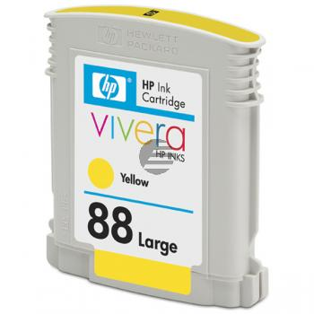 HP Tintenpatrone gelb HC (C9393AE, 88XL)