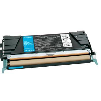 Lexmark Toner-Kartusche Prebate cyan HC (C5240CH)