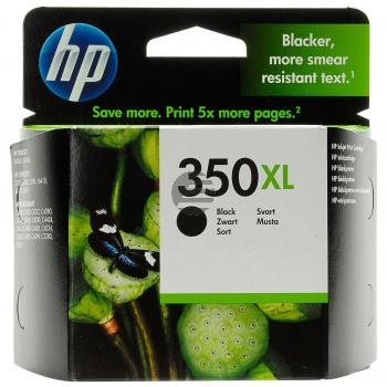 HP Tintenpatrone schwarz HC (CB336EE, 350XL)