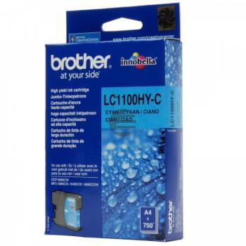 Brother Tintenpatrone cyan HC (LC-1100HYC)