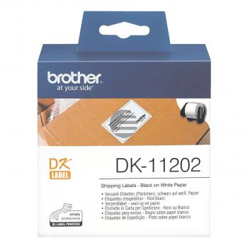 Brother Versand-Etiketten weiß (DK11202)