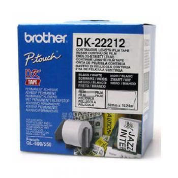 Brother Endlos-Etikett weiß (DK22212)