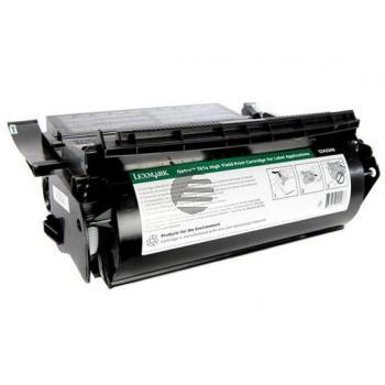 Lexmark Toner-Kartusche refurbished schwarz HC (12A5340)