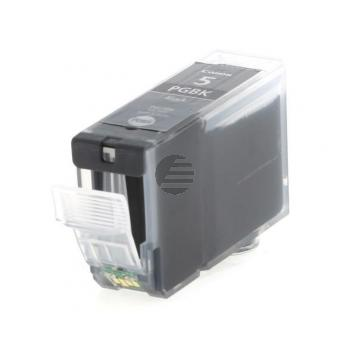 Canon Tintenpatrone 2 x schwarz 2-Pack (0628B025, 2 x PGI-5BK)
