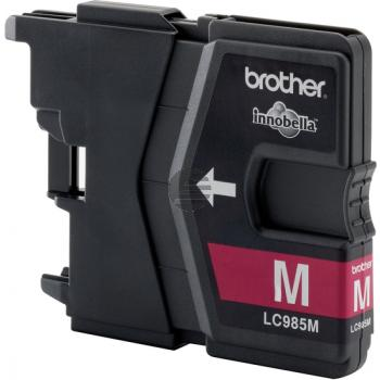 Brother Tintenpatrone magenta (LC-985M)