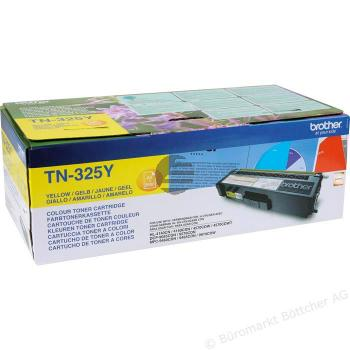 Brother Toner-Kit gelb HC (TN-325Y)