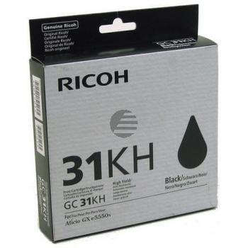Ricoh Gel-Kartuschen schwarz (405701, GC31KH)