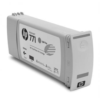 HP Tintenpatrone hellgrau 3er Pack (CR257A, 3 x 771C)