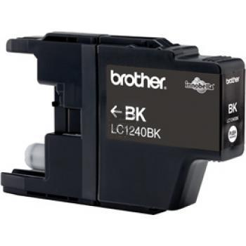 Brother Tintenpatrone 2 x schwarz 2-Pack (LC-1240BKBP2DR)