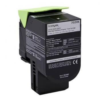 Lexmark Toner-Kit Return Program schwarz HC (70C2HK0, 702HK)