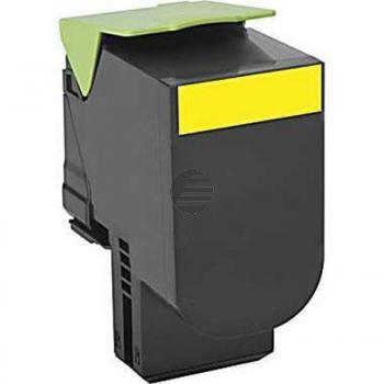 Lexmark Toner-Kit Return gelb HC (80C2SY0, 802SY)
