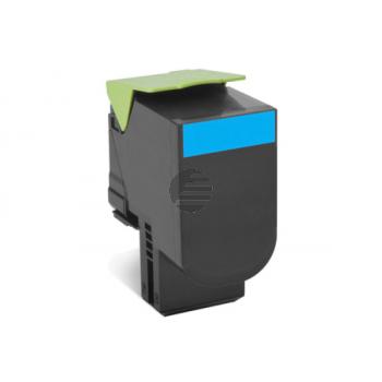 Lexmark Toner-Kit Return cyan HC plus (80C2HC0, 802HC)