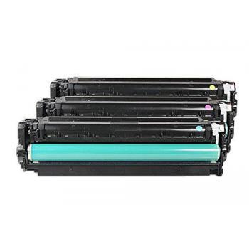 HP Toner-Kartusche gelb cyan magenta (CF370AM, 305A)