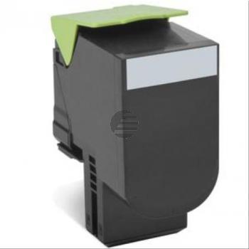 Lexmark Toner-Kit Corporate schwarz HC (80C2SKE, 802SKE)