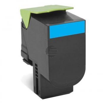 Lexmark Toner-Kit cyan HC (80C0H20, 800H2)