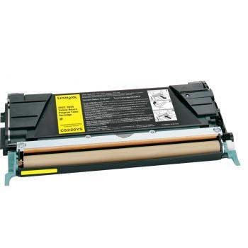 Lexmark Toner-Kartusche Corporate gelb (C522A3YG)