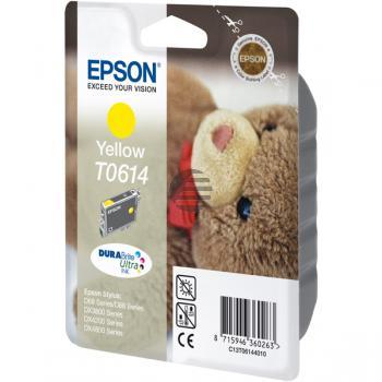 Epson Tintenpatrone gelb (C13T06144020, T0614)