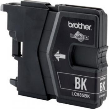 Brother Tintenpatrone 2x schwarz 2-er Pack (LC-985BKBP2DR)