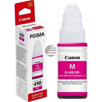 Canon Tintennachfüllfläschchen magenta SC (0665C001, GI-490M)