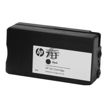 HP Tintenpatrone 2x schwarz (P2V31A, 2x 711)